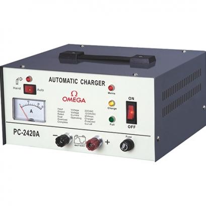 شارژر باتری اتوماتیک امگا Battery-Charger
