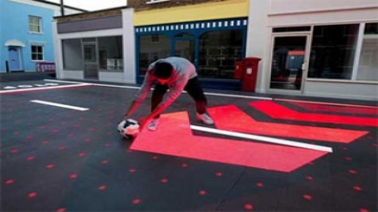خط کشی هوشمند خیابان