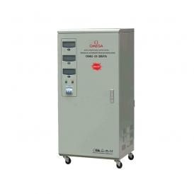 استابلایزر سه فاز نیمه صنعتی سروو موتوری OMG-33-20Kva